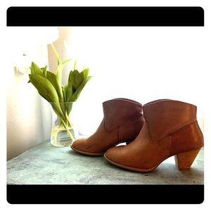 BROWN ANKLE BOOTIES WOMEN'S SIZE 10